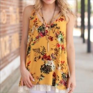 Infinity Raine Tops - 3 FOR $30 • Floral and Lace Tunic